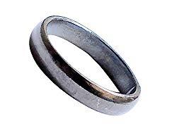 Real Black Horse Shoe Iron Ring Kale Ghode Ki Naal