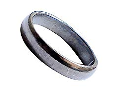 Real Black Horse Shoe Iron Ring Kale Ghode Ki Naal